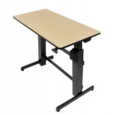 WorkFit-D, Sit-Stand Desk (Birch)