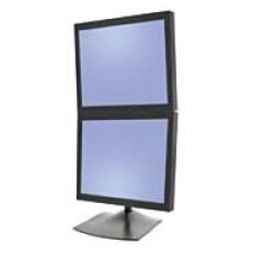 DS100 Dual-Monitor Desk Stand, Vertical