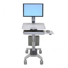 WorkFit-C, Single LD Sit-Stand Workstation